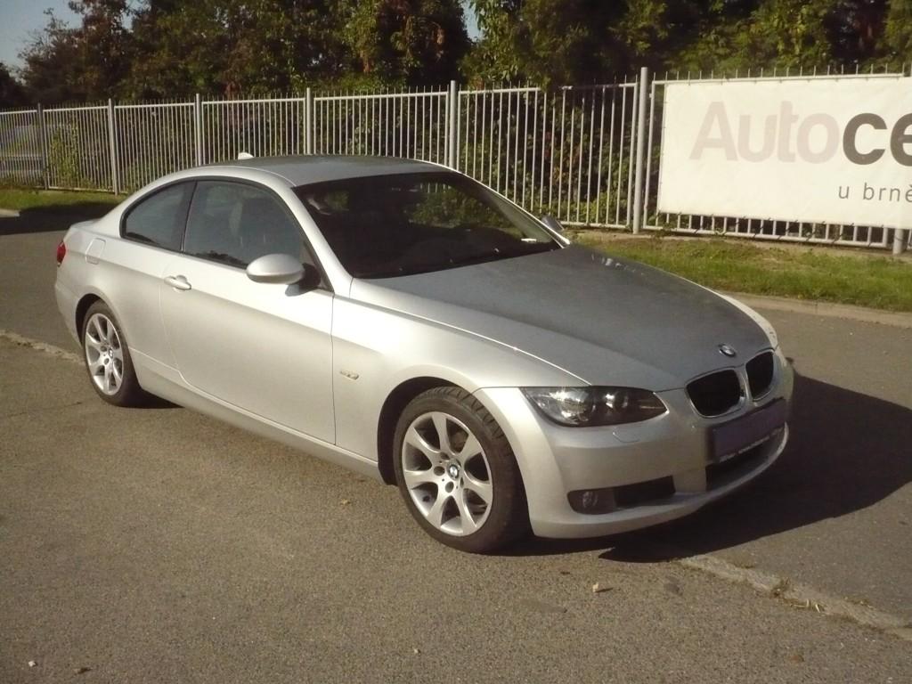 BMW 320d COUPE KŮŽE,MANUÁL