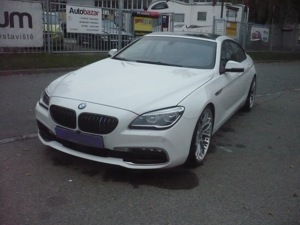 BMW 640d GRANCOUPE, ODPOČET DPH, 230kW